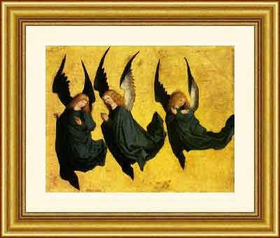 Three Hovering Angels