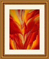 Red Canna - Georgia O'Keeffe