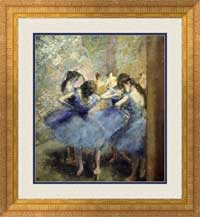 Degas - Blue Dancers